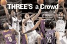 """Sports Illustrated, """"Three's a Crowd"""" spread"""