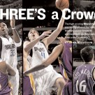 "Sports Illustrated, ""Three's a Crowd"" spread"