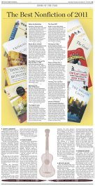 Wall Street Journal Books section