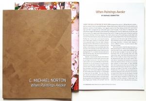 Artist's promotional catalog, 24pp, 2017